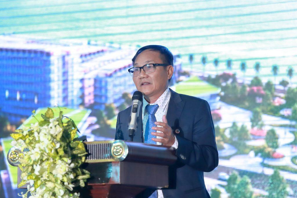 Ông Nguyễn Hải phát biểu trong sự kiện